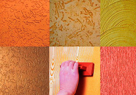 Qual a diferença entre Grafiato e Textura?